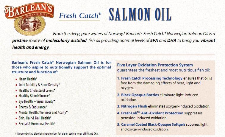 Fresh Catch Salmon Oil