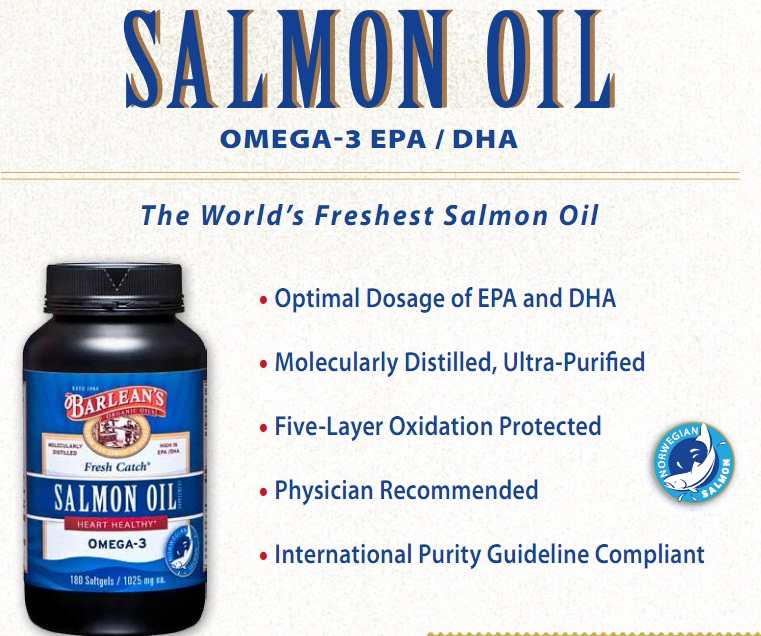 Barlean's Salmon Oil in India